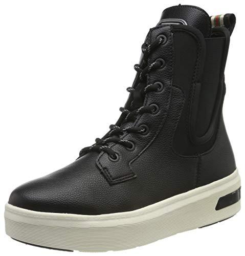 bugatti Damen 431771335069 Hohe Sneaker, Schwarz (Black/Multicolour 1081), 42 EU