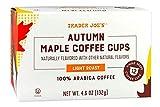 Trader Joe's Autumn Maple Single Serve Coffee K Cups 12 Count (2 Packs)
