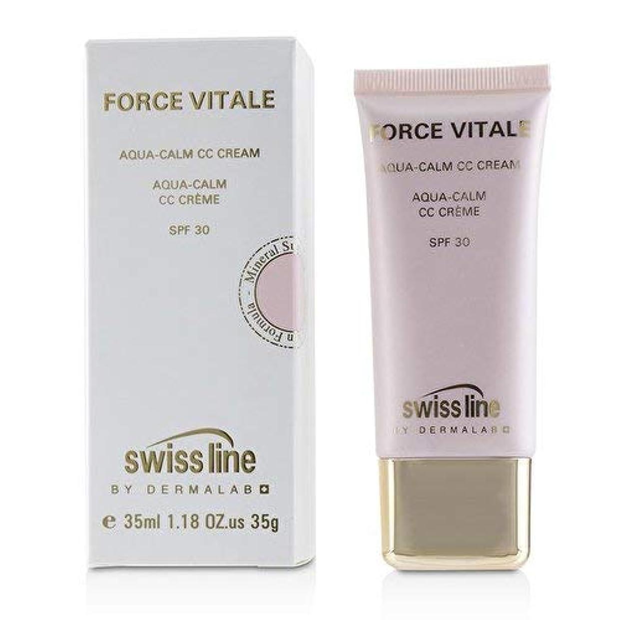 開発する抽象咽頭スイスライン Force Vitale Aqua-Calm CC Cream SPF30 - Beige 10 35ml並行輸入品