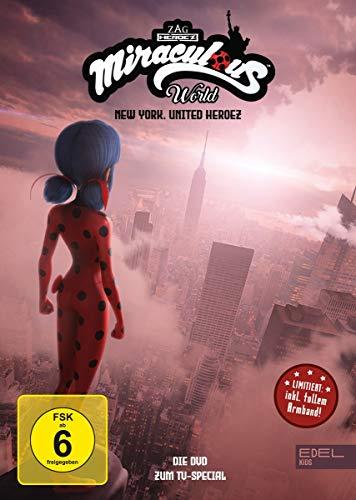 Miraculous World - New York, United Heroez (limitierte Edition mit Armband) - Die DVD zum TV-Special