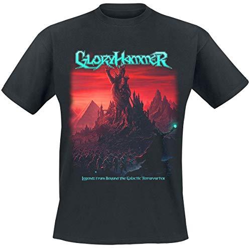 Gloryhammer Legends from Beyond The Galactic Terrorvortex Männer T-Shirt schwarz L