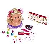 Theo Klein- Cabeza Princess Coralie Little Emma, Busto para peinar y maquillar con cosmética y Accesorios (5399)