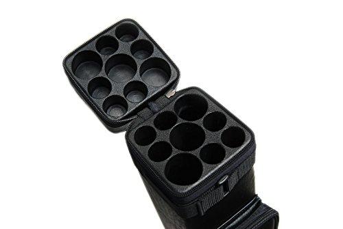 3B6S Hartschalenkoffer für Billard-Queue, 3 x 6 Schäfte