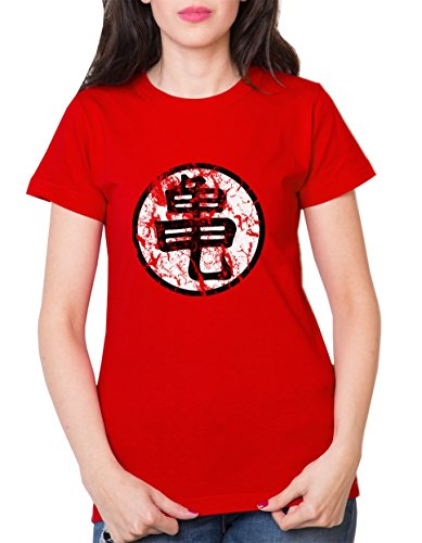 Sambosa - T-Shirt - Femme - Rouge - S