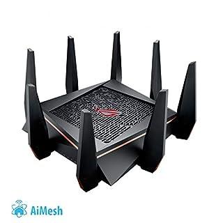 Asus GT-AC5300 ROG Rapture Gaming Router (Ai Mesh WLAN System, WiFi 5 AC5300, Gaming Engine, 8x Gigabit LAN Link Aggregation, App Steuerung, AiProtection, Multifunktion USB 3.0) (B073QJ6Z5C) | Amazon price tracker / tracking, Amazon price history charts, Amazon price watches, Amazon price drop alerts