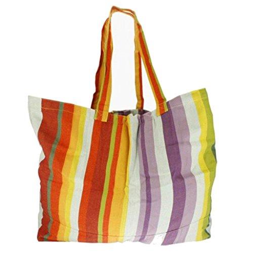 Große Einkaufstasche/Strandtasche XXL - Baumwolle Handarbeit - Fair Trade (Costa Rica)