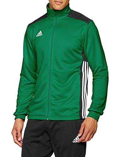 Adidas Regista 18 Track Top Chaqueta Deportiva, Hombre, Verde (Bold Green/Black), XS