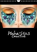 Creative Make-Ups 2022 (Wandkalender 2022 DIN A4 hoch): Extravaganten Make-Up Ideen (Monatskalender, 14 Seiten )