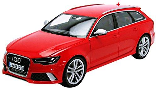 Audi RS6 Avant, rot , Modellauto, Fertigmodell, Minichamps 1:18