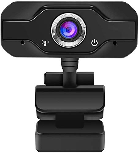 USB Webcam Streaming 1080p Full HD Duurzaam Handig webcam met microfoon voor Gaming, Streaming, Conferencing en Computer