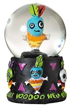 Artisan Owl New Orleans Voodoo Doll 45mm Mini Souvenir Water Snow Globe