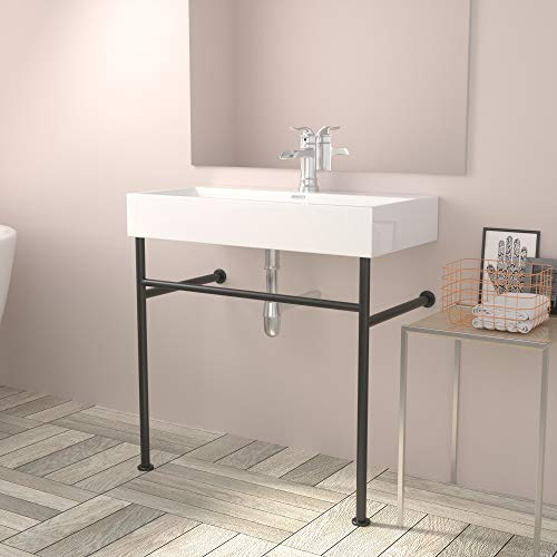 White Console Sink - Lordear 32