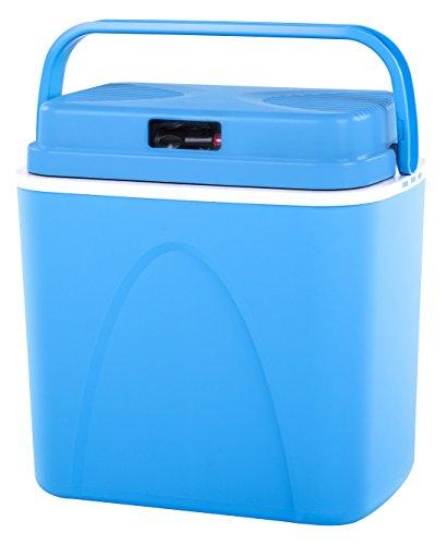 Connabride CB22 Thermoelektrische Kühlbox, 12 V, 22 l, Blau