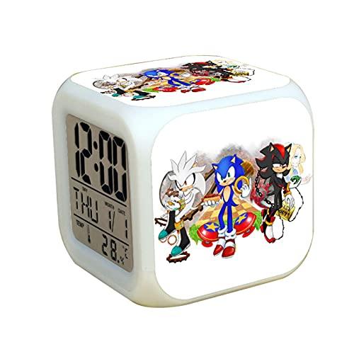 XINKO Sonic Armbanduhr 2021 Kinder Cartoon Amy Rose Uhr Jungen Stunden Geburtstag Geschenk Digital Wecker Uhren Kinder