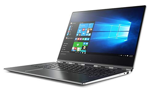Lenovo Yoga 910 2-in-1 14' FHD IPS Touch-Screen Ultrabook, Intel Core i7-7500U, 8GB DDR4 RAM, 256GB SSD, HDMI, Bluetooth, 802.11ac, Fingerprint Reader, Backlit Keyboard, No DVD -Windows10