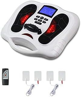 EMS Foot Massager Foot Circulation Device- Boost Circulation & Relief Aching Feet Legs, Strengthen Leg Musclest Legs, Strengthen Leg Musclesoot Stimulator for Neuropathy (Foot Massager)