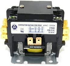 Appli Parts Heavy Duty 2 Poles Contactor 20 Amp 24 Volt Coil UL 476929 APAC-22024