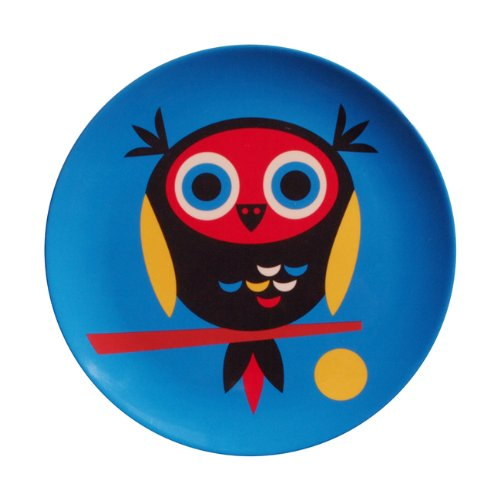 OMM-design Ingela P Arrhenius (インゲラ・アリアニウス) メラミンプレート (Owl/オウル)