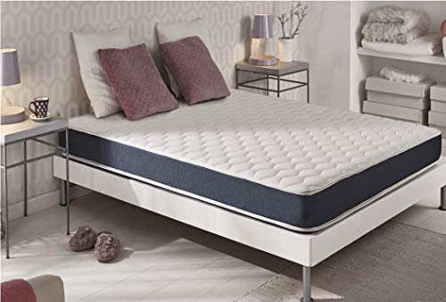naturalex Ergolatex | Ergonomic Memory Foam Mattress with Support for Back and Hips | 6ft Super King Size 180x200cm | Ultra Comfortable and Advanced Latex Technology | Breathable Hygiene Control