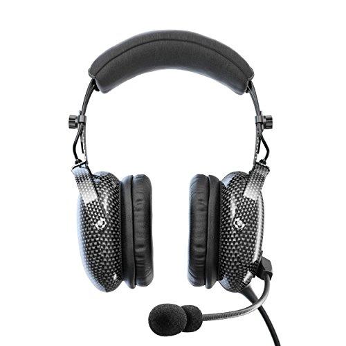 FARO G3 ANR Aviation Headset (Active Noise Reduction) Carbon Fiber Premium Pilot Headset with Bluetooth