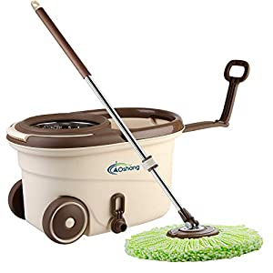 Oshang Spin Floor Mop and Bucket