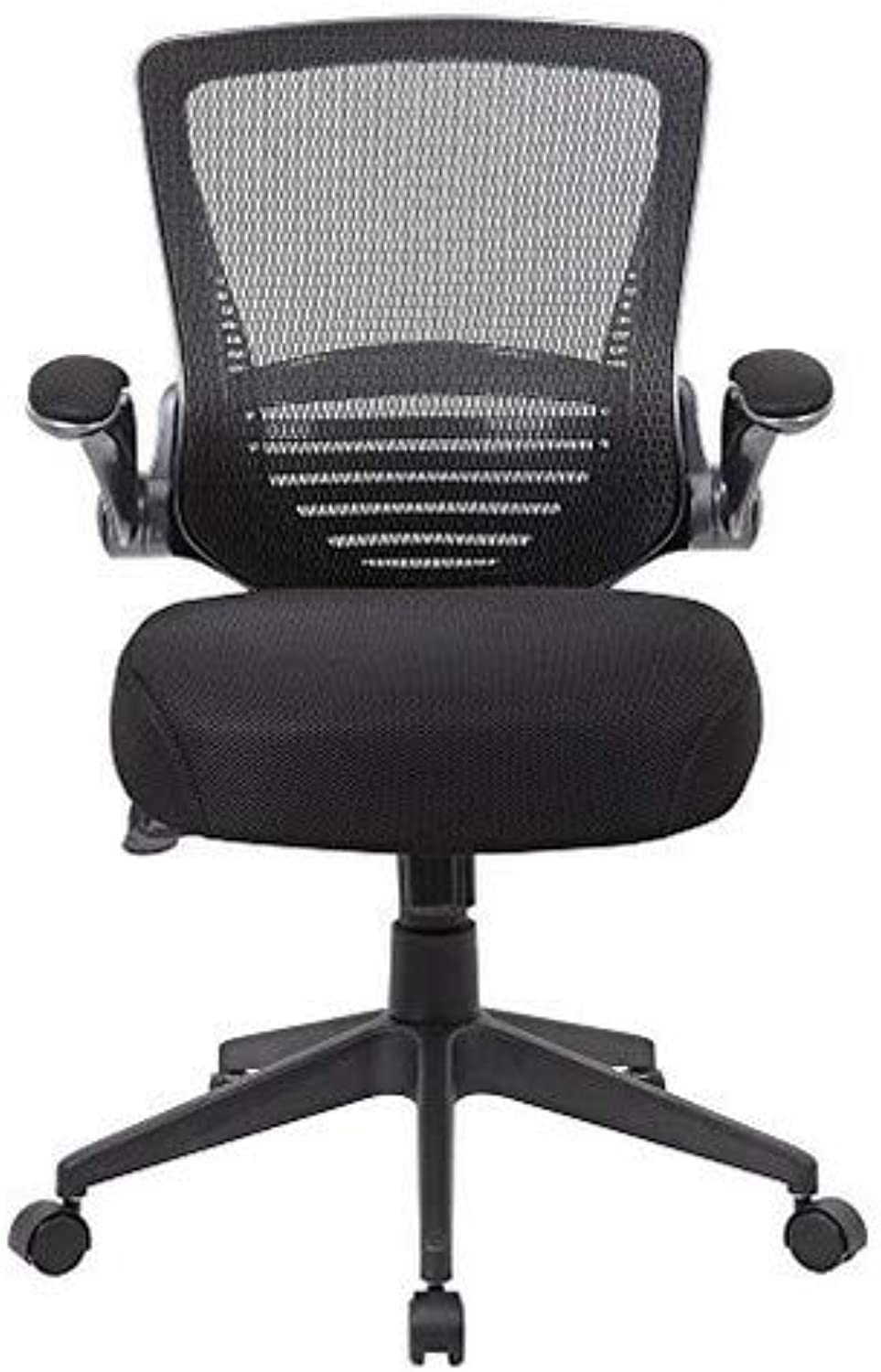 Boss Office Products (BOSXK) B6356-BK Contemporary Task Chair, Black