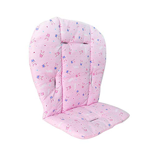Ibely Baby Seat Cushion Liner Mat Pad Cover for Stroller Car High Chair Breathable Waterproof Liner Mat Pad Protector 1 Piece Pink