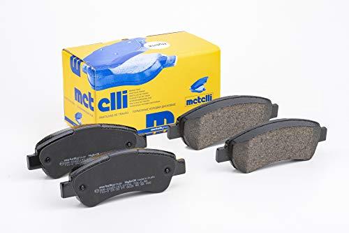 metelligroup 22-0710-0 Bremsbeläge, Made in Italy, Ersatzteile für Autos, ECE R90-zertifiziert, Kupferfrei