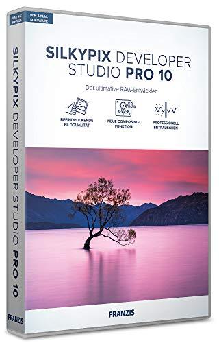 FRANZIS Silkypix Developer Studio Pro 10|10|2 Geräte|ohne Abo|PC/Mac|Disc|Disc