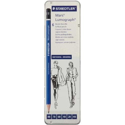 STAEDTLER(ステッドラー)『マルス ルモグラフ鉛筆100 G6』