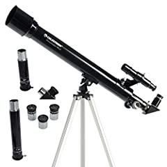 Perfect beginners telescope: The Celestron PowerSeeker 50AZ is an easy-to-use and powerful telescope. The PowerSeeker series is designed to give the first-time telescope user the perfect combination of quality, value, features, and power. Manual yoke...