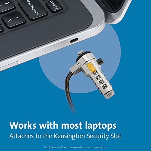 Product Image 7: Kensington Combination Cable Lock for Laptops and Other Devices