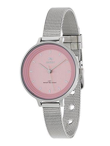 relojes marea color rosa
