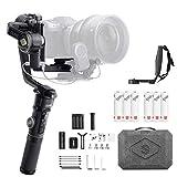 【ZHIYUN正規代理&1年間安心保証】Zhiyun Crane 2S コンボキット 3軸手持ち ジンバル カメラ スタビライザー ジンバル 一眼レフ デジタル一眼レフカメラ とミラーレスカメラ用 Sony Nikon Canon Panasonic LUMIX BMPCC 対応 -日本語説明書