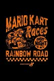 Nintendo Mario Kart Rainbow Road Vintage Graphic: Journal, Lined Notebook, 120 Blank Pages, Journal, 6x9 Inches, Matte Finish Cover