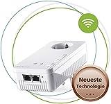 devolo Magic 1 Wifi: Ideal für Home Office und Streaming, starker Powerline-Erweiterungs Adapter mit WLAN-Funktion, bis 1200 Mbit/s, 2x Fast Ethernet LAN-Anschluss, integrierte Steckdose