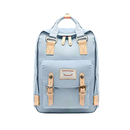 BestiTas Moderner, einfacher und Unisex Outdoor Rucksack Mode Schulrucksack für Backpack (Hellblau)