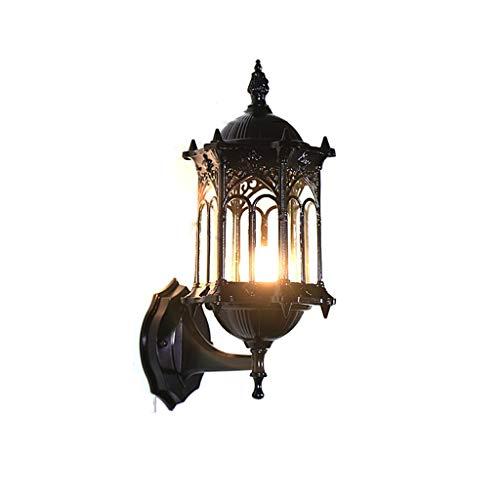 TXTC LED buitenwandlampen, wandmontage lamp buiten waterdichte wandlantaarn wandlamp voor opritten, binnenplaats, front porch