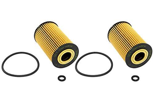 Ölfilter 2 X SCT SH 435 P für Mercedes Benz A Klasse W168 Vaneo 414 A140 A160 A1