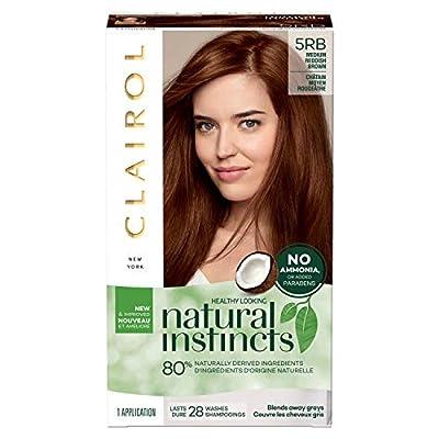 Clairol Natural Instincts Semi-Permanent, 5RB Reddish Brown, 1 Count