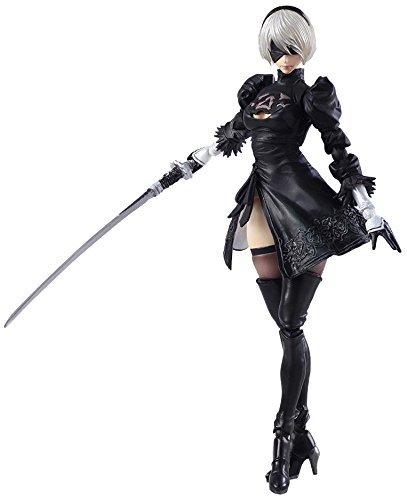Nier Automata 2B & Machine Lifeform Bring Arts Action Figure Set