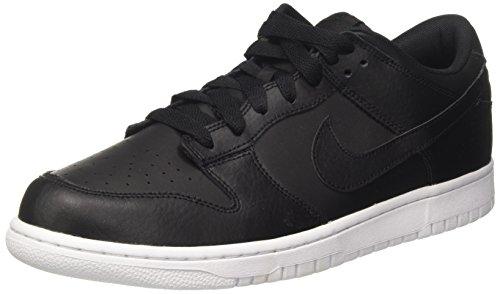 Nike Dunk Low, Zapatillas de Gimnasia para Hombre, Negro (Black/Black/White), 41 EU