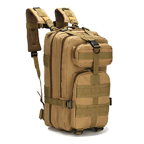 XIYUN Mochila táctica de primeros auxilios para primeros auxilios, para trauma y primeros auxilios, mochila médica, bolsa de utilidad, mochila militar, color marrón