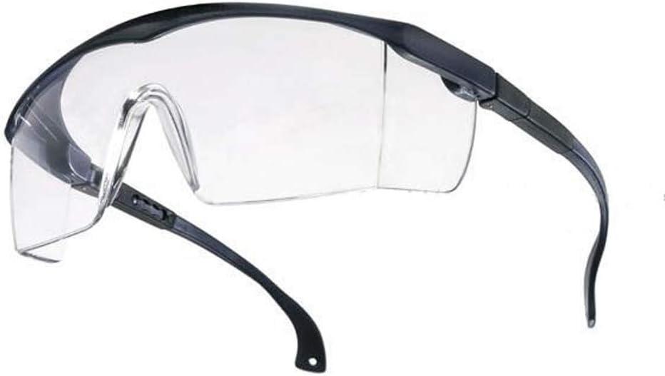 Tector Basic - Gafas de protección (policarbonato EN166, con protección lateral, revestimiento antiarañazos)
