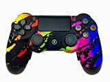 AimControllers PS4 Custom Wireless Controller, Playstation 4 Personalized Gamepad with 4 Paddles - Camo Color