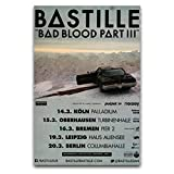 BAIWANO Bastille – Things We Lost 2014 – Konzert-Poster
