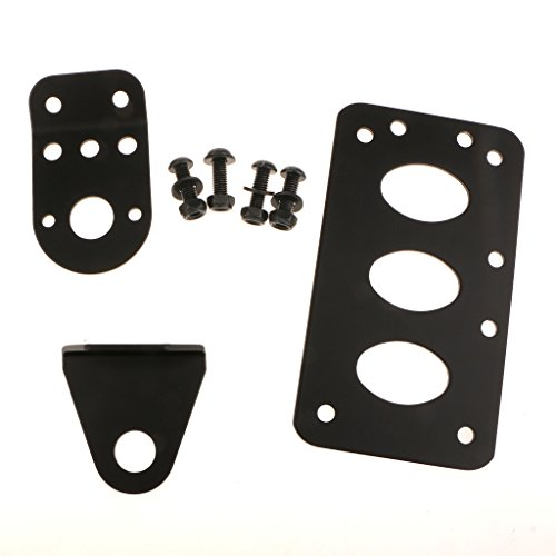 B Blesiya Motorcycle License Plate Bracket Side Mount Kit Easy Install License Plate Holder