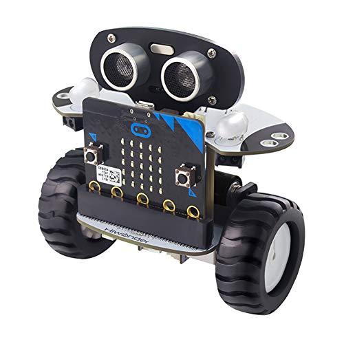 MKULOUS Stem Ranger Robots programables para niños, Kit de Robot Educativo, Juguete Stem, Versión Bluetooth, Azul, Regalo