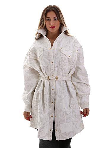 Versace Jeans D2HUB445HRC43003 Jacke Frauen White S