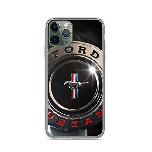 Phone Case Ford Mustang Steering Wheel Compatible with iPhone 6 6s 7 8 X XS XR 11 Pro Max SE 2020 Samsung Galaxy Waterproof Shockproof Anti